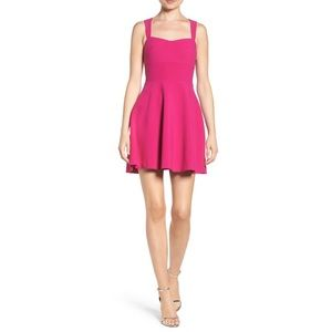 Suffolk Fit And Flare Dress In Orchid